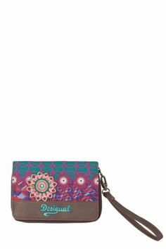 Shop at Desigual for the new women's, men's and kids' fashion and decor collections. Clutch Purse, Scarlet, Women's Accessories, Kids Fashion, Zip, Shopping, Clutches, Belts, Baby