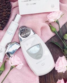 Step up your at home facial with the latest in beauty devices Galvanic Facial, Ageloc Galvanic Spa, Beauty Box, Beauty Secrets, Beauty Skin, Face Treatment, Body Treatments, Beauty Packaging, E 10