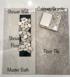 Modern Home Furniture. Master Bedroom Bathroom, Bathroom Spa, Bathroom Floor Tiles, Shower Floor, Basement Bathroom, Small Bathroom, Bathroom Ideas, Bathroom Updates, Bathroom Photos