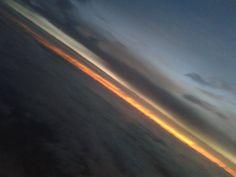 Fly! Nascer do sol volta de Recife/PE