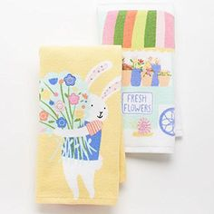 Fresh Flower Bunny Garden Plush 2-pack Kitchen Towels Blossoms & Blooms http://www.amazon.com/dp/B00VOBX5B0/ref=cm_sw_r_pi_dp_vKP3vb1Z4M9GV