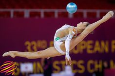 Alexandra SOLDATOVA (Russia) ~ Ball @ EC Budapest-Hyngary Ulrich Fassbender.