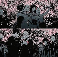 That day Naruto got Married! I can't handle my tears look at Iruka putting a flower on Naruto's suit like he took his father's place. TuT