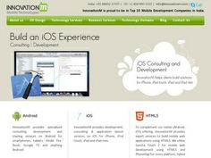 InnovationM agency Mobile related services: Mobile App Development, Mobile Website Design, Mobile Strategy Consulting, Responsive Web Design