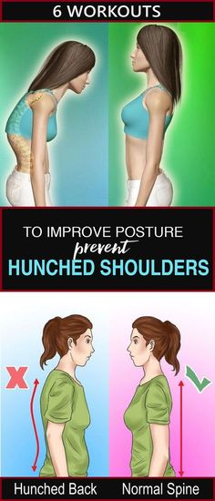 These 6 Workouts Help You Prevent Hunched Shoulders. 10 Minute Workouts These 6 workouts will not only help you to have better posture but also prevent hunched shoulders. Fitness Workouts, Fitness Tips, Health Fitness, Fitness Routines, Exercise Routines, Modelos Fitness, Bad Posture, 10 Minute Workout, Night Workout