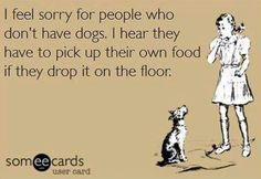 I feel sorry for people who dont have dogs - http://jokideo.com/i-feel-sorry-for-people-who-dont-have-dogs/