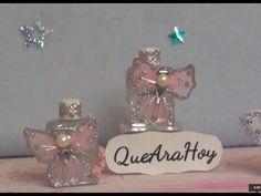 Decora estos frascos y los puedes dar de recuerdo, bolo o souvenir Son un lindo detalle. y más si está hecho por tí .