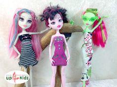 Monster Kleider Set 35 6815011 für z.B. Monster High, Ever After High und Puppen ähnlicher Größe Modepuppe Puppenkleider Puppenmode ghoulia