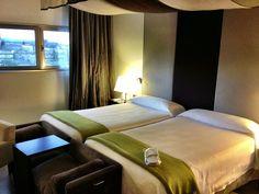 My fab room NH Hoteles Obradoiro in Santiago de Compostela,Spain. (c) GTH & Nathan DePetris