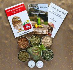 """Enter the """"Beauty, Books, & Tea"""" Herbal Gift Basket Giveaway on DianeKidman.com! http://www.dianekidman.com/2013/03/the-beauty-books-tea-herbal-gift-basket_12.html"""