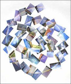 "Peter Coffin ""Untitled"" (rainbow), 2007.  Courtesy Galerie Emmanuel Perrotin"