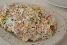 labneli kizarmis patates salata