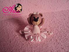 Lembrancinha de Ursinha rosa