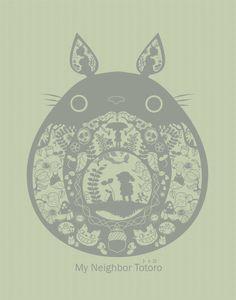 My Neighbor Totoro by pronouncedyou