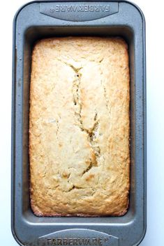 If you are not familiar with plantain bread (plantain cake), you are in for a treat. This bread is gluten-free, delicious, and is perfect for breakfast. Plantain Cake Recipe, Plantain Bread, Plantain Recipes, Ripe Plantain, Cake Mix Desserts, Vegan Desserts, Cake Recipes, Gluten Free Pancakes, Pancakes And Waffles