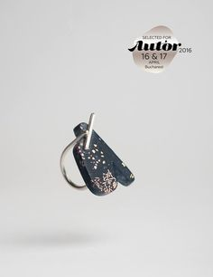 """AUTOR 2016 ★ 16 - 17 April ★ Grand Hotel du Boulevard, Bucharest ★ """"Recurrence"""" collection by Ana Marchetanu from Romania. Selected for AUTOR 2016 Bucharest, Grand Hotel, Romania, Type 3, Cufflinks, Jewellery, Accessories, Collection, Author"""