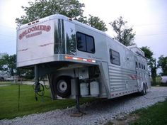 For Sale 2004 Bloomer 4 Horse Trailer - Duster Conversion $11000