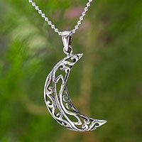 Filigree Moon from @NOVICA, They help #artisans succeed worldwide.