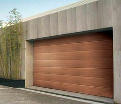garage doors modern wood - Google Search