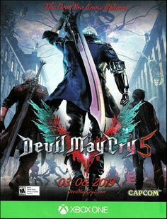 Devil may cry 5 (video game) - tv tropes Devil May Cry, Mafia, Nintendo Switch, Nintendo 3ds, Xbox One Price, Playstation Logo, Friday Video, Handheld Video Games, Best Pc Games