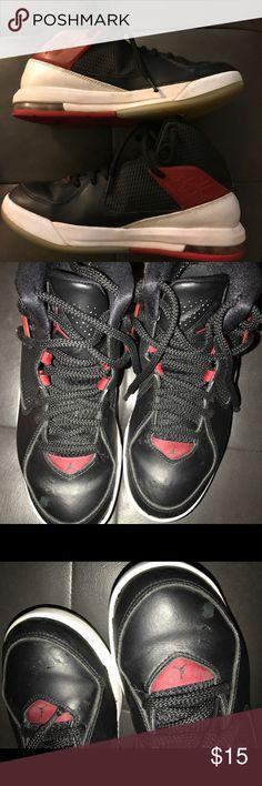 Hot Deal Nike Air Flight 89 Black Dark Magnet Grey University Re