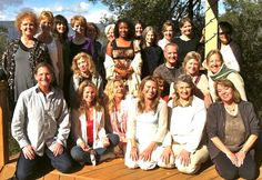 Shiny happy people at the end of a recent 5 Day Silent Retreat