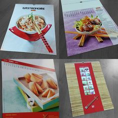 Calendrier personnalisé Fortune Cookie, Napkins, Creations, Gift Wrapping, Cookies, Tableware, Gifts, Personalised Calendar, Printing