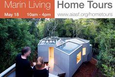 Multi-cellular House, Marin home tours, Marin Living, Koji Tsutsui & Associates, Jon Brody, Mill Valley