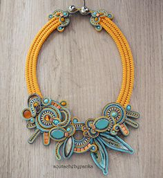 Hey, I found this really awesome Etsy listing at https://www.etsy.com/listing/614709039/orange-turqoise-handmade-jewelry