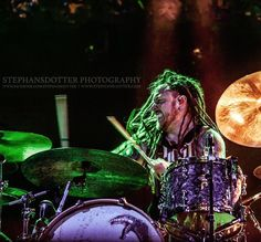 #Repost @tstephansdotter: Barry Kerch Shinedown. SHARE=TAG. NO ALTERATIONS. www.stephansdotter.com www.facebook.com/stephansdotter #stephansdotterphotography  #rockphotography #musicphotography #concertphotography #livephotography #barrykerch #shinedown #drummer #dreads #rocknderby #ghost