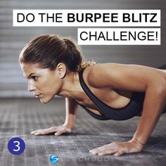31 Days of Fitness -- Test your strength with the burpee blitz challenge! How many burpees can you do in 5 minutes? // fitness tips // fitness challenge // fitspo // fitfam // workout // exercise // health // beachbody // beachbody blog