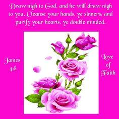 James 4:8 KJV