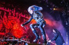 Alissa White-Gluz, Arch Enemy     Russian Tour 2017