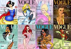 Cinderella fan art | Vogue Princess Covers Preview by Dantetyler on DeviantArt | Flickr ...