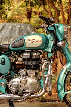 Beautiful Royal Enfield Vintage Motorcycle...