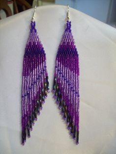 Beautiful Native American Design Beaded by BeadedCreationsetc, $25.00