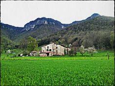 La Clapera Vella. Hostalets d'en Bas. Garrotxa. Girona.