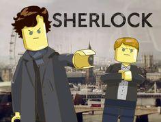 Sherlock BBC: LEGO Sherlock Fandom, Sherlock Holmes, Vatican Cameos, Arthur Conan Doyle, Moriarty, Lisa Simpson, Detective, Lego, Fandoms