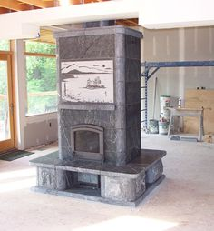 tulikivi soapstone fireplaces   Custom Tulikivi Soapstone Fireplaces