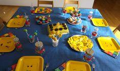 Lego-Geburtstag Tischdeko