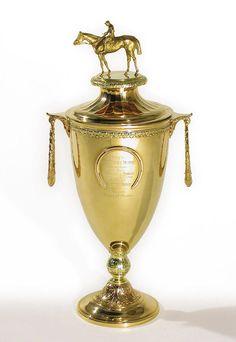 the Kentucky Derby trophy!