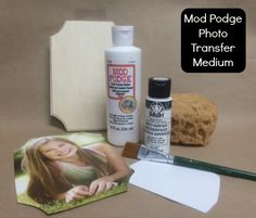 Mod Podge Photo Transfer Medium .... How to Use it and Create a Project! The Plaid Palette blog post by Chris Williams
