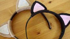 kedi kulaklı taç yapımı arşivleri - Evde Kendin Yap