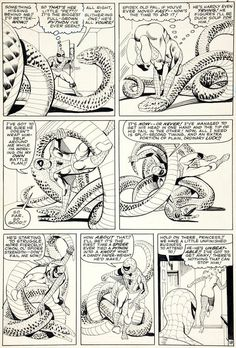 ditko original art | Amazing Spider-Man #22 pg. 18 original art by Steve Ditko