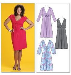 plus size sewing patterns links to multiple sources of plus size patterns with helpful suggestions