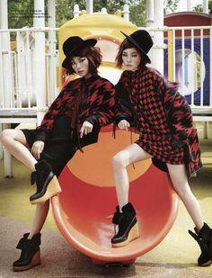 """""""Color Playground"""" Vogue Korea 2014"""