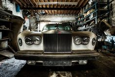 Rolls Royce | A Rolls Royce rotting away in a barn.. :( for … | Flickr