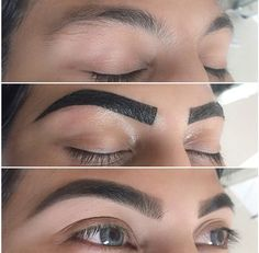 Eye Brow Tint. This is how I need to let mine grow. They are thick like this anyway