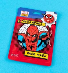 Spider-Man Face Mask – The Caveman's Guide