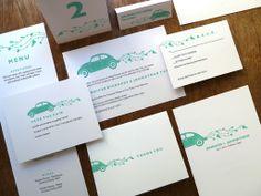 Printable Wedding Set - Beetle